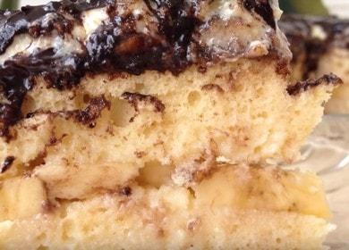 Вкуснейший банановый торт: рецепт с фото и видео.