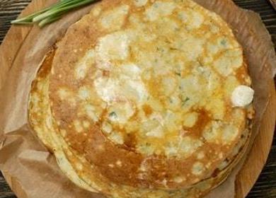 Самые вкусные блины с сыром: два пошаговых рецепта с фото!