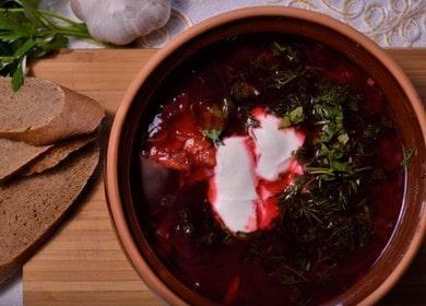 Вкусный и сытный борщ с квашеной капустой: готовим по рецепту с пошаговыми фото.