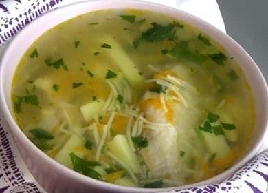 Готовим куриный суп с вермишелью и картошкой по пошаговому рецепту с фото.