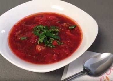 Самый вкусный рецепт борща с говядиной: пошаговые фото и видео!