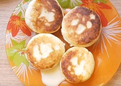 Вкусные сырники без яиц: пошаговый рецепт с фото.