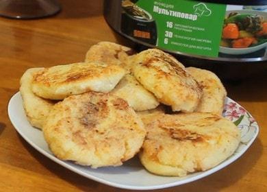 нежные сырники в мультиварке: готовим по рецепту с пошаговыми фото.