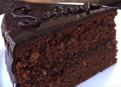 Изысканный торт Захер: рецепт с фото пошагово классический.