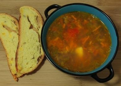 вкусный фасолевый суп из красной фасоли: рецепт с пошаговыми фото и видео!