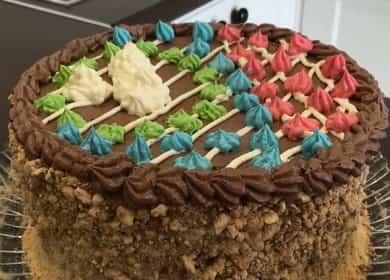 Киевский торт: приготовление в домашних условиях по пошаговому рецепту с фото