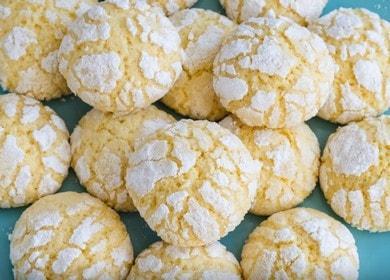 Нежное и ароматное апельсиновое печенье
