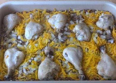 Гречка с курицей в духовке — сочное и вкусное второе блюдо
