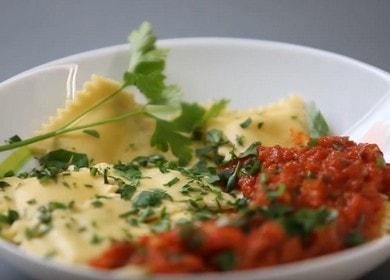 Вкусные итальянские пельмени — равиоли