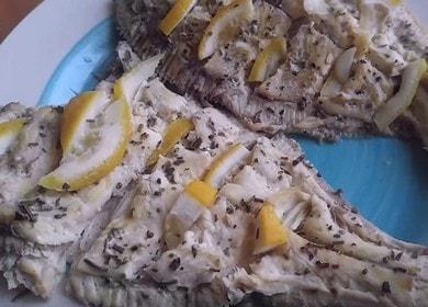 Камбала, запеченная в духовке — рецепт приготовления вкусной и сочной рыбы