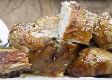 Аппетитная курица в соевом соусе на сковороде: готовим по рецепту с фото.