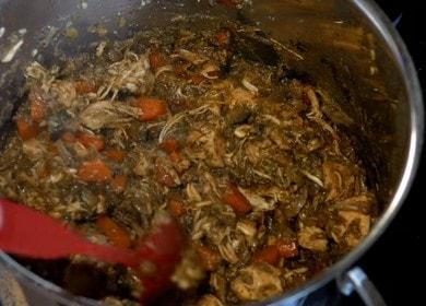 Ароматная курица, тушеная с овощами: готовим по рецепту с фото.