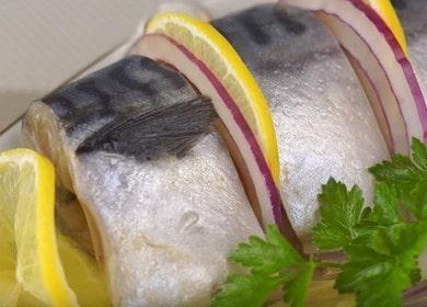 Вкусная маринованная скумбрия — рецепт на праздничный стол