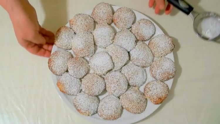 Вкусное миндальное печенье приготовленное по простому рецепту готово