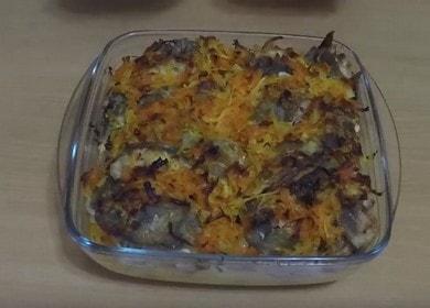 Вкуснейший налим с картошкой в духовке — простой рецепт