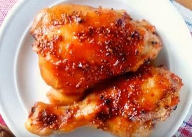 Очень вкусные куриные ножки с хрустящей корочкой запеченные в духовке