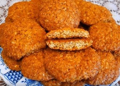 Готовим вкусное овсяное печенье на кефире: рецепт с пошаговыми фото.