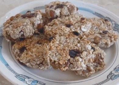 Овсяное печенье — как приготовить на сковороде за 10 минут