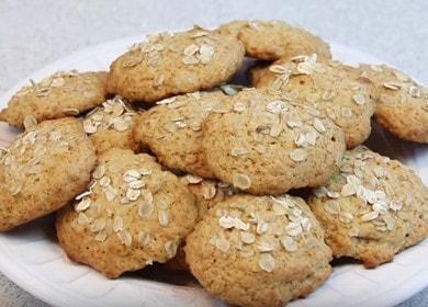 Овсяное печенье с медом и сметаной — полезный и вкусный десерт