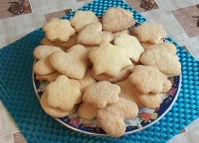 Готовим простое и вкусное песочное печенье по рецепту с фото.