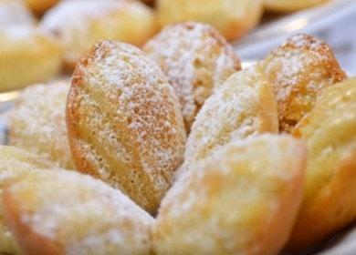 Классическое печенье Мадлен — французский рецепт