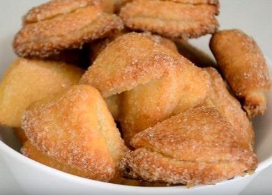 Печенье Ушки из творога — домашний рецепт из детства