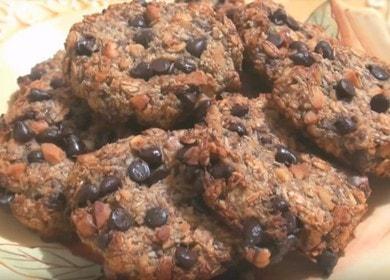 Готовим оригинальное печенье без муки по рецепту с фото.