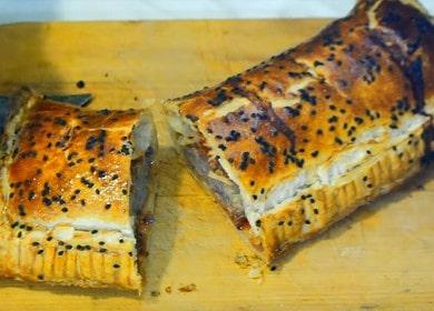 Как приготовить быстрый и вкусный пирог с фаршем: рецепт с фото.