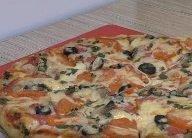 Как научиться готовить вкусную пиццу по простому рецепту
