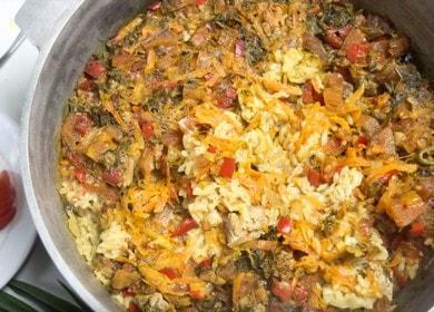 Готовим вкусный плов в духовке: рецепт с пошаговыми фото и видео.