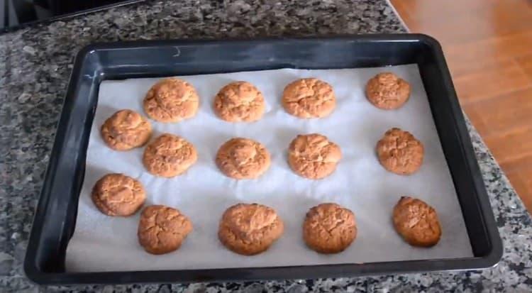 Протеиновое печенье готово.