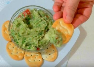Классический рецепт соуса гуакамоле с авокадо: готовим с пошаговыми фото.