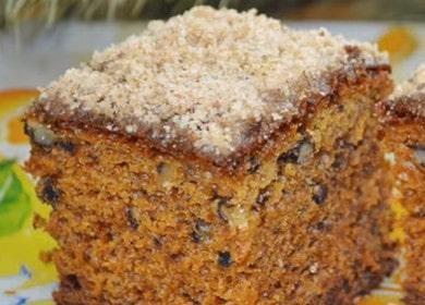 Рецепт ароматного пирога с вареньем «Негр в пене»