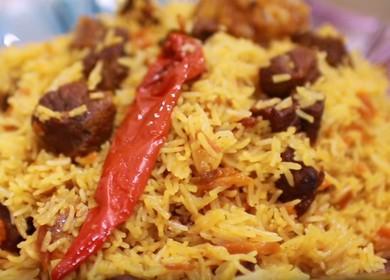 Плов из говядины — все секреты приготовления среднеазиатского блюда