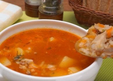 Готовим вкусный рисовый суп с курицей по рецепту с фото и видео.