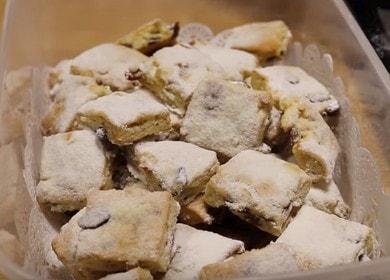Рождественское печенье «Штолленки» — праздничный рецепт
