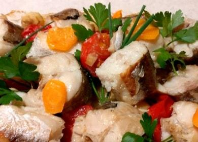 Как научиться готовить вкусную рыбу с овощами в духовке