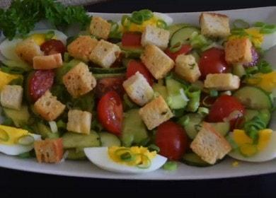 Готовим салат с авокадо и яйцом: быстрый рецепт с фото.