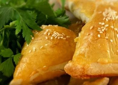 Вкуснейшая самса с курицей в домашних условиях: готовим по пошаговому рецепту с фото.