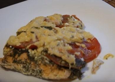 Очень вкусная семга в духовке: рецепт в фольге с пошаговыми фото.