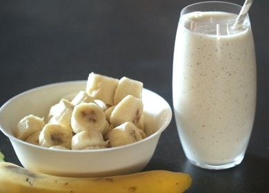 Смузи с бананом и молоком — идеальный рецепт для завтрака