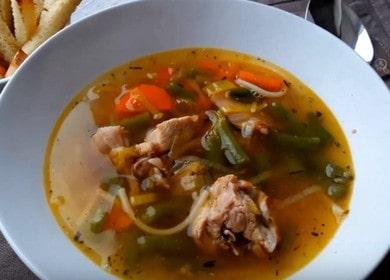 Готовим нежный суп из кролика по рецепт с фото.