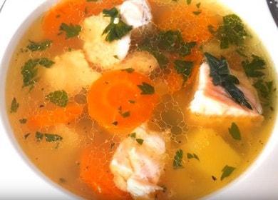 Вкусный домашний суп из рыбы: готовим по рецепту с фото.