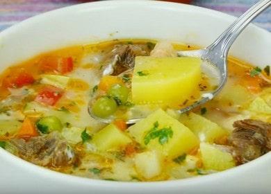 Суп на говяжьем бульоне с овощами — очень вкусное и ароматное блюдо