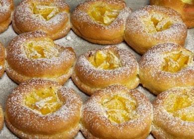 Творожное печенье с апельсинами — очень легкий рецепт