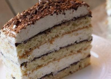 Швейцарский творожный торт — очень сочный и нежный