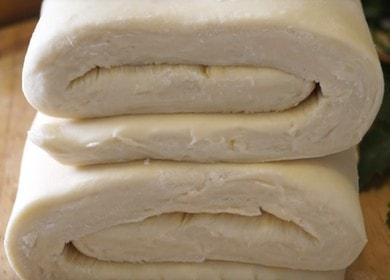 Готовим идеальное слоеное тесто для пирога с мясом по рецепту с пошаговыми фото.