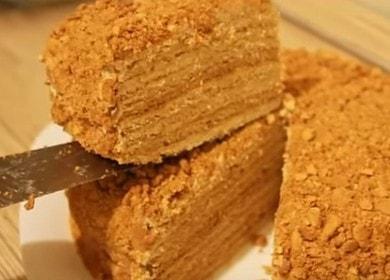 Вкуснейший торт Рыжик: классический рецепт с пошаговыми фото.