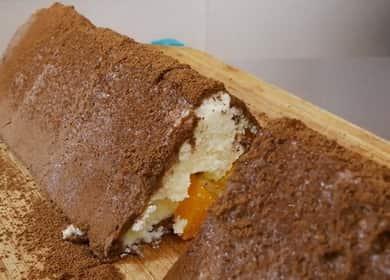 Торт без выпечки из печенья и творога по пошаговому рецепту с фото