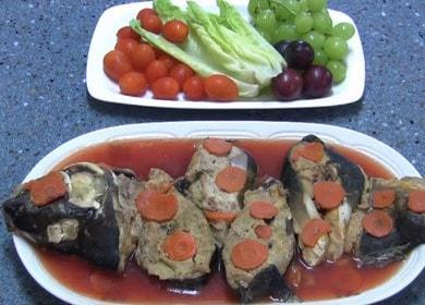 Как научиться готовить вкусную фаршированную рыбу